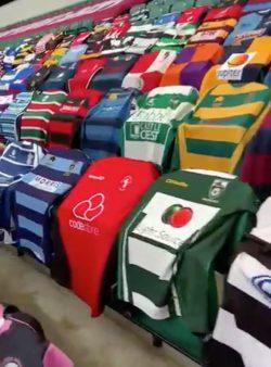 Beverley RUFC Shirt at Twickenham