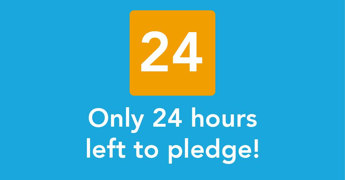 CrowdFunder 24 Hours Left