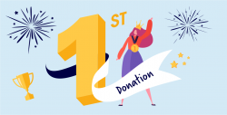 Easyfundraising first donation