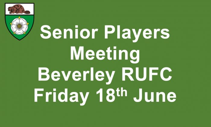 Senior Players Meeting 18 Jun 2021