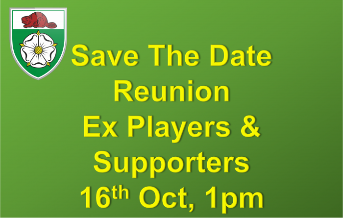 Save the Date Reunion